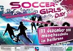 Plakat zum Soccer Girls Day
